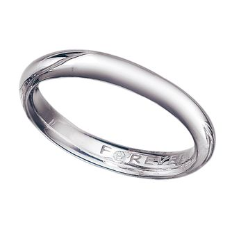 18ct White Gold 3mm Forever Wedding Ring - Product number 6857671