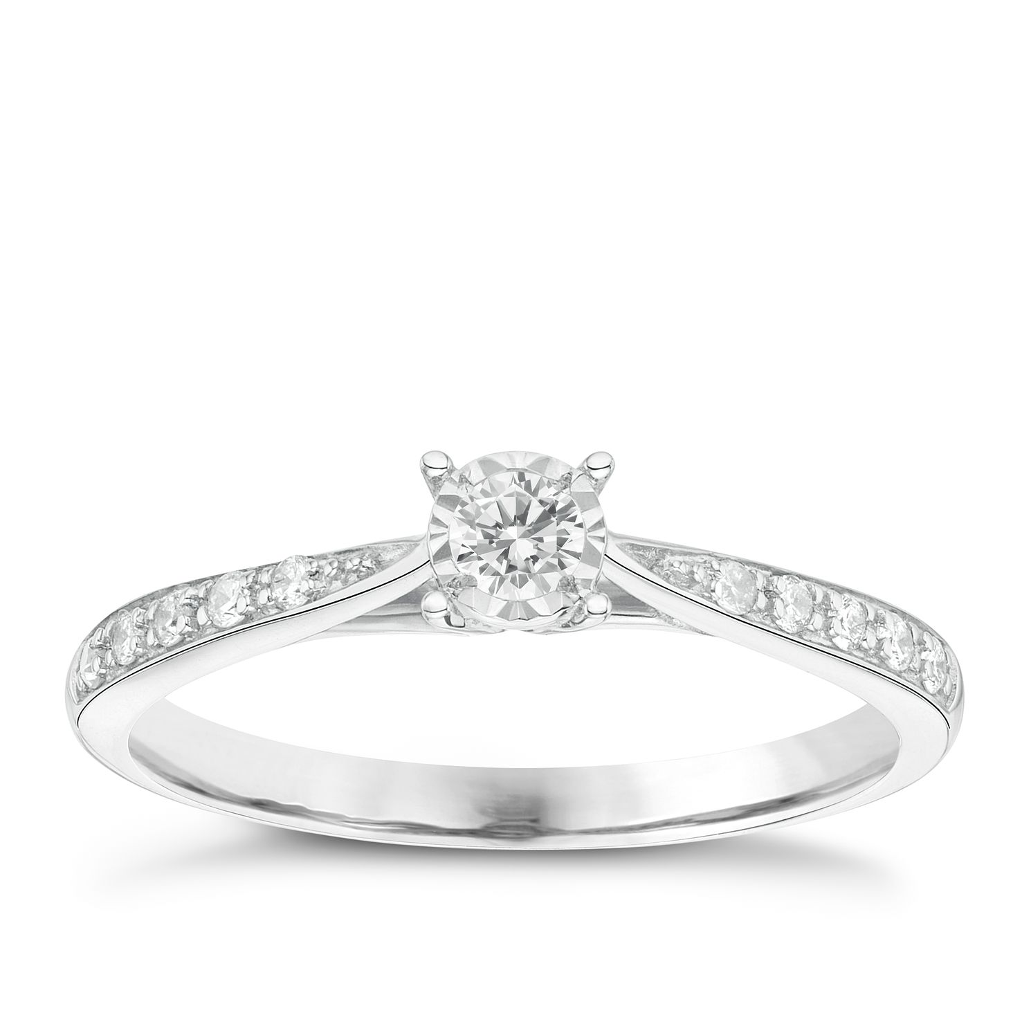 Engagement Rings Diamond Solitaire Rings Ernest Jones