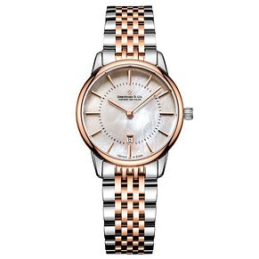 Dreyfuss & Co Ladies' Two Tone Steel Bracelet Watch - Product number 6889824