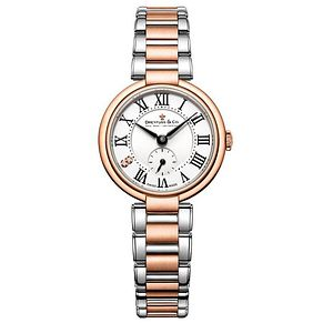 Dreyfuss & Co Ladies' Two Tone Steel Bracelet Watch - Product number 6889891
