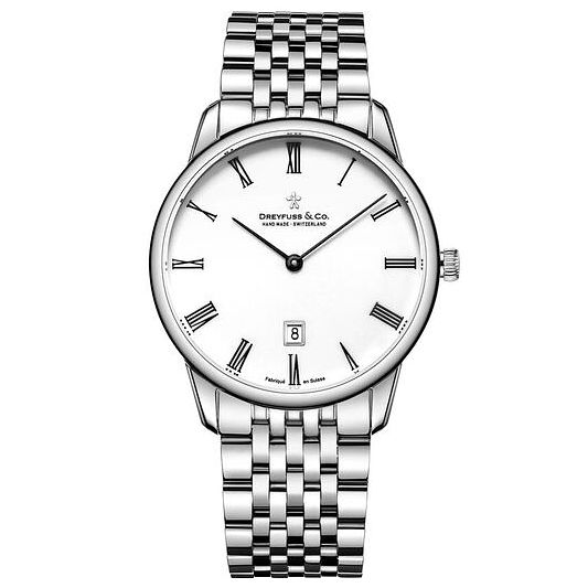 Dreyfuss & Co Men's Stainless Steel Bracelet Watch - Product number 6889972