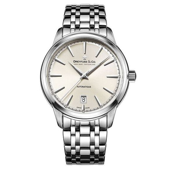 Dreyfuss & Co Men's Stainless Steel Bracelet Watch - Product number 6890040