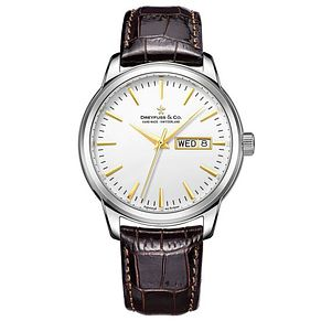 Dreyfuss & Co Men's Brown Leather Strap Watch - Product number 6890075