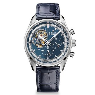 Zenith El Primero Men's Stainless Steel Strap Watch - Product number 6890296