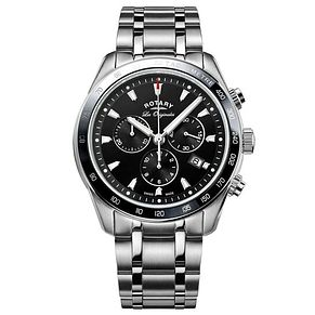 Rotary Men's Chronograph Stainless Steel Bracelet Watch - Product number 6892183