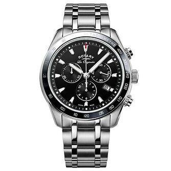 Rotary Gents' Chronograph Stainless Steel Bracelet Watch - Product number 6892183