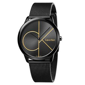 Calvin Klein Men's Black Mesh Bracelet Watch - Product number 6892582