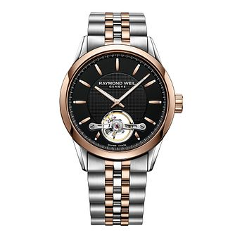 Raymond Weil Freelancer Men's Two Colour Bracelet Watch - Product number 6893015