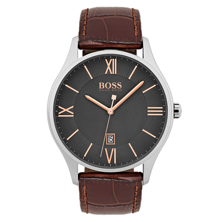 Hugo Boss Men's Stainless Steel Strap Watch - Product number 6893074