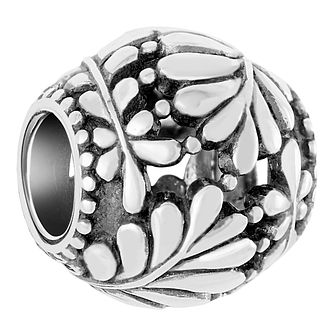 Chamilia Twisted Leaf Sterling Silver Bead - Product number 6893120