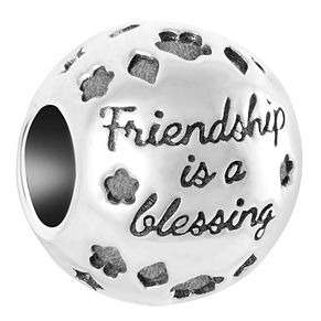 Chamilia Sterling Silver Friendship Is A Blessing Charm - Product number 6893236