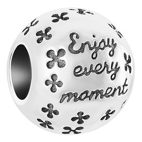 Chamilia Sterling Silver Enjoy Every Moment Bead - Product number 6893244