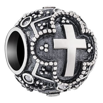 Chamilia Sterling Silver Cross Bead - Product number 6893481