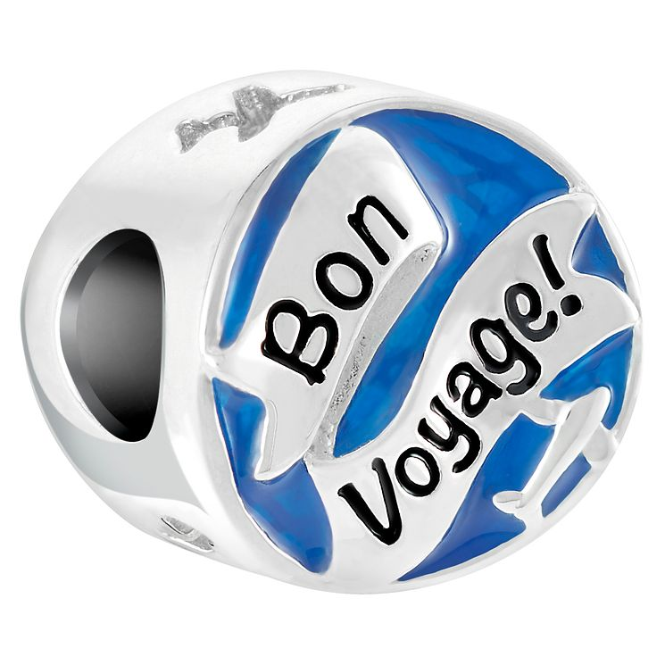 Chamilia Sterling Silver Bon Voyage Bead - Product number 6893732
