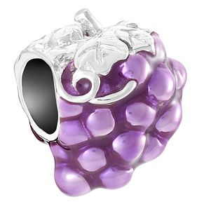 Chamilia Sterling Silver Purple Grapes Bead - Product number 6893740