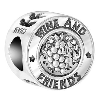Chamilia Sterling Silver Wine and Friends Bead - Product number 6893767