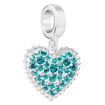 Chamilia Sterling Silver With Love December Charm - Product number 6893899