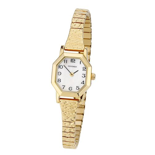 Sekonda Ladies' Gold-Plated Watch - Product number 6907555