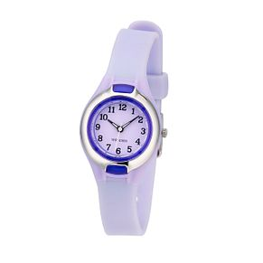 Limit Child's Lilac Dial Rubber Strap Watch - Product number 6907881
