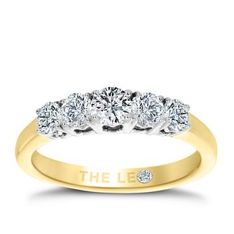 Leo Diamond 18ct Yellow Gold 0.75ct II1 Eternity Ring - Product number 6908535