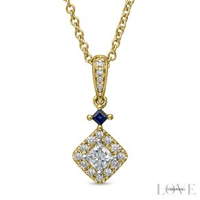 Vera Wang 18ct Yellow Gold 0.37ct Diamond  Pendant - Product number 6909825