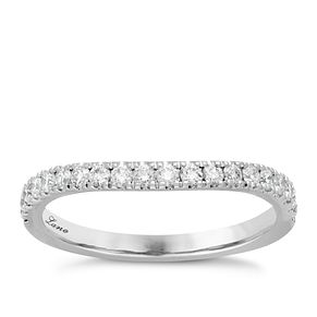 Neil Lane Platinum 0.37ct Diamond Shaped Band - Product number 6933157