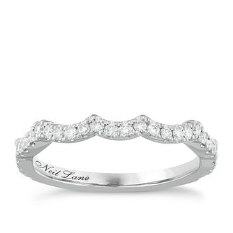 Neil Lane Platinum 0.29ct Diamond Shaped Band - Product number 6935818