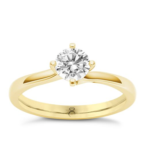 The Diamond Story 18ct Yellow Gold 0.50ct Diamond Ring - Product number 6937055