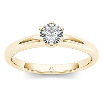 The Diamond Story 18ct Yellow Gold 0.33ct Diamond Ring - Product number 6937845