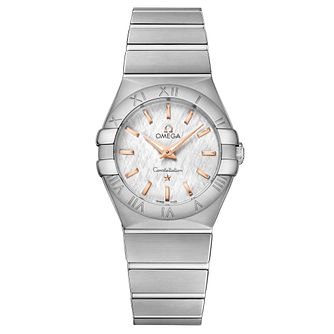 Omega Constellation Quartz Ladies' Stainless Steel Watch - Product number 6939570