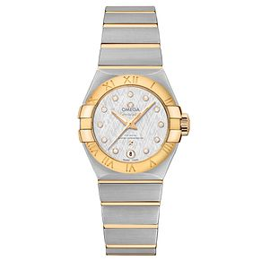 Omega Constellation Ladies' 18ct Gold Two Colour Watch - Product number 6939597