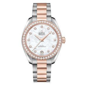 Omega Constellation Ladies' 18ct Rose Gold Diamond Watch - Product number 6939651