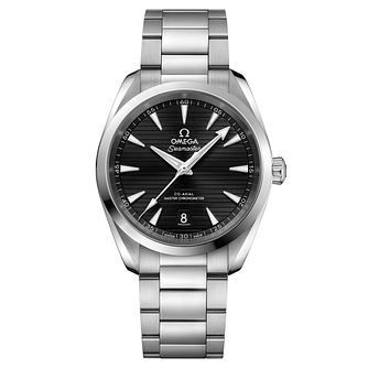 Omega Sea Master Aqua Terra Men's 38mm Black Steel Watch - Product number 6939759