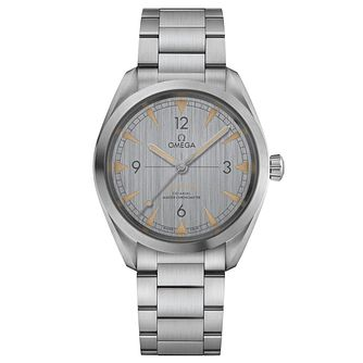 Omega Railmaster Men's Stainless Steel Grey Dial Watch - Product number 6939813