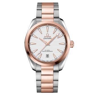 Omega Seamaster Aqua Terra Men's Two Colour Bracelet Watch - Product number 6939953