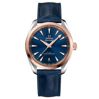 Omega Seamaster Aqua Terra Men's Two Colour Blue Watch - Product number 6939996