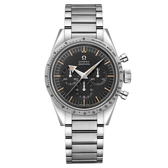 Omega Limited Edition Speedmaster Men's Black Bracelet Watch - Product number 6940064