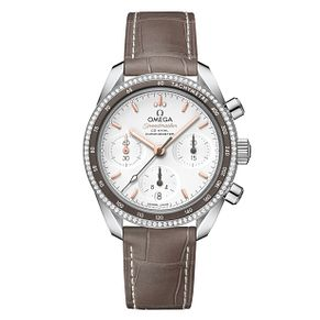 Omega Speedmaster Men's Stainless Steel Stone Set Watch - Product number 6940145