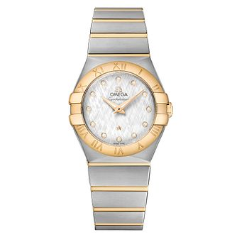 Omega Constellation Ladies' 18ct Yellow Gold Bracelet Watch - Product number 6940277