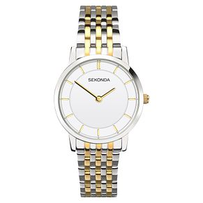 Sekonda Ladies' Two Tone Bracelet Watch - Product number 6944612