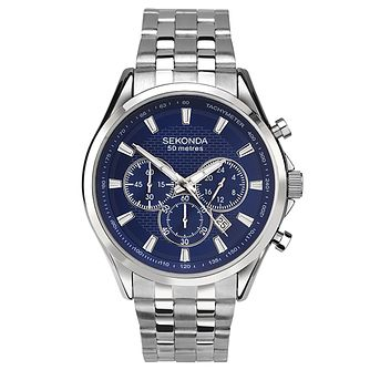 Sekonda Men's Stainless Steel Bracelet Chronograph Watch - Product number 6944744