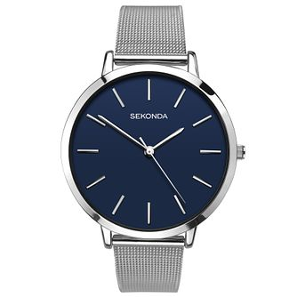 Sekonda Editions Ladies' Stainless Steel Mesh Bracelet Watch - Product number 6944817
