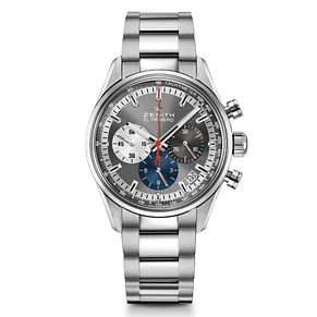Zenith El Primero Men's Grey Chronograph Bracelet Watch - Product number 6947697