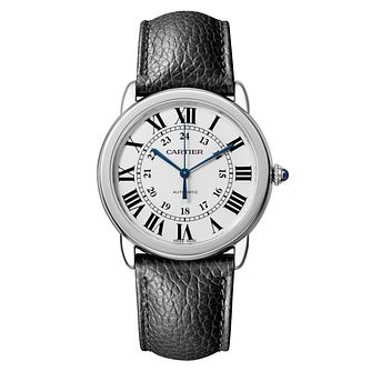 Cartier Ronde Solo Men's Stainless Steel Strap Watch - Product number 6947808