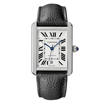 Cartier Tank Solo Men's Stainless Steel Strap Watch - Product number 6947840