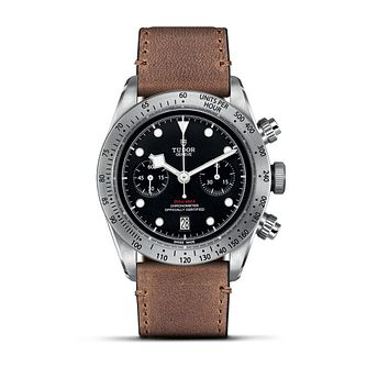 Tudor Heritage Black Bay Chrono Stainless Steel Strap Watch - Product number 6954456