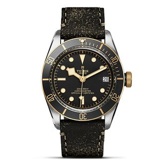 Tudor Heritage Black Bay Men's 2 Colour Strap Watch - Product number 6954502