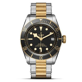 Tudor Heritage Black Bay S&G Men's 2 Colour Bracelet Watch - Product number 6954510