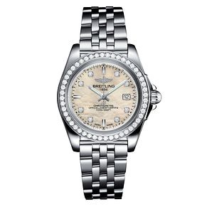 Breitling Galactic 32 Ladies' Stainless Steel Bracelet Watch - Product number 6955002