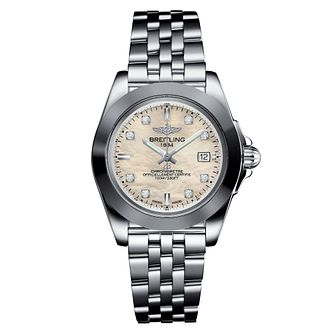 Breitling Galactic 32 Ladies' Stainless Steel Watch - Product number 6955029